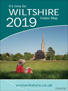 2019 WILTSHIRE VISITOR MAP  BROCHURE