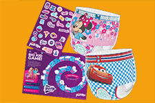 Free Nappies & Free Stickers