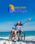 1 Stop Holidays for the Disabled brochure cover from 19 December, 2016