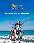 1 Stop Holidays for the Disabled brochure cover from 20 December, 2016
