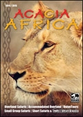Acacia Africa brochure cover from 05 December, 2013