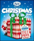 Ace Christmas brochure cover from 29 April, 2010