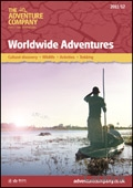 The Adventure Company Worldwide Adventures brochure cover from 24 November, 2010