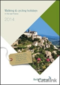 Belle France - Walking, Cycling and Canal Holidays brochure cover from 28 November, 2013