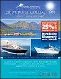 Cruise & Maritime Voyages catalogue cover from 21 September, 2012