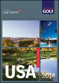 Destination Golf - USA brochure cover from 20 February, 2014