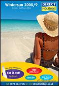Direct Holidays catalogue cover from 14 May, 2008