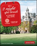Win an England Spa Break for Two brochure cover from 04 July, 2012