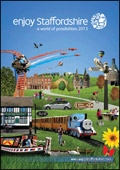 Enjoy Staffordshire brochure cover from 11 December, 2012