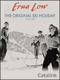 Erna Low Ski Holidays brochure cover from 04 March, 2014