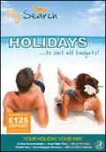 Fly Search - Air Holidays brochure cover from 30 January, 2015