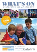 Visit Greater Yarmouth brochure cover from 02 May, 2012