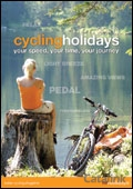 HF Holidays Cycling brochure cover from 24 December, 2009