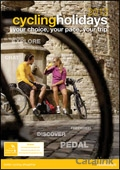 HF Holidays Cycling brochure cover from 23 November, 2011