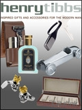 Henry Tibbs - Luxury Mens Gifts brochure cover from 29 February, 2012
