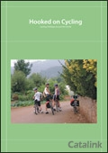 Hooked on Cycling brochure cover from 01 August, 2012