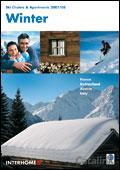 Interhome Skiing Holidays brochure cover from 23 December, 2007
