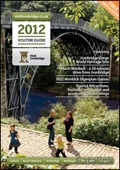 Visit Ironbridge & Telford brochure cover from 04 July, 2012