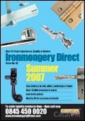 Ironmongery Direct brochure cover from 04 May, 2007