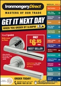 Ironmongery Direct brochure cover from 03 March, 2014