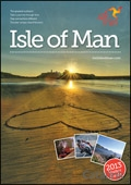 Visit Isle of Man brochure cover from 18 September, 2013