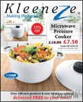 Kleeneze catalogue cover from 20 August, 2012