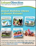 Leisure Direction Self-Drive European Family Holidays catalogue cover from 22 February, 2013