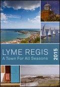 Lyme Regis Tourism brochure cover from 09 January, 2015