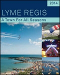 Lyme Regis Tourism brochure cover from 10 January, 2014