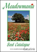 Meadowmania Seeds brochure cover from 25 July, 2012