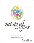 Mistral - Singles Holidays in Crete catalogue cover from 24 February, 2012