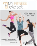 My Fitness Closet brochure cover from 02 December, 2014