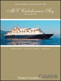 Noble Caledonia - MS Caledonian Sky brochure cover from 01 November, 2011