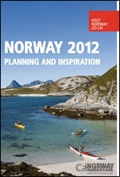 Norway Inspiration brochure cover from 24 January, 2012