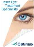 Optimax Laser Eye Treatment brochure cover from 10 August, 2009