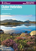 Explore Scotland: The Outer Hebrides Where to Stay & What to See & Do Guide brochure cover from 06 July, 2011