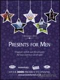 Presents for Men brochure cover from 06 November, 2012