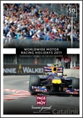 Page & Moy Motor Racing Second Edition brochure cover from 23 February, 2011