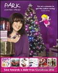 Park Christmas Savings Voucher brochure cover from 09 September, 2011