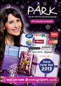 Park Christmas Savings Voucher brochure cover from 24 September, 2012