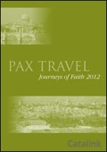 Pax Travel brochure cover from 24 February, 2012