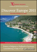 Phoenix Holidays - Discover Europe brochure cover from 09 February, 2011