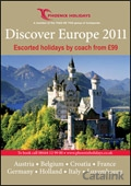 Phoenix Holidays - Discover Europe brochure cover from 03 March, 2011