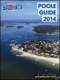 Poole Tourism brochure cover from 09 January, 2014