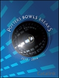 Potters Bowls Breaks brochure cover from 27 September, 2013