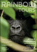 Rainbow Tours - Africa brochure cover from 03 October, 2013