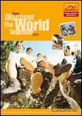 Ramblers Family Walking Adventures brochure cover from 24 December, 2008