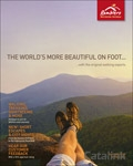 Ramblers Worldwide Holidays brochure cover from 17 April, 2015