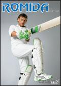 Romida Cricket Specialists Newsletter cover from 07 August, 2008