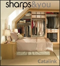 Sharps Bedrooms brochure cover from 15 August, 2012